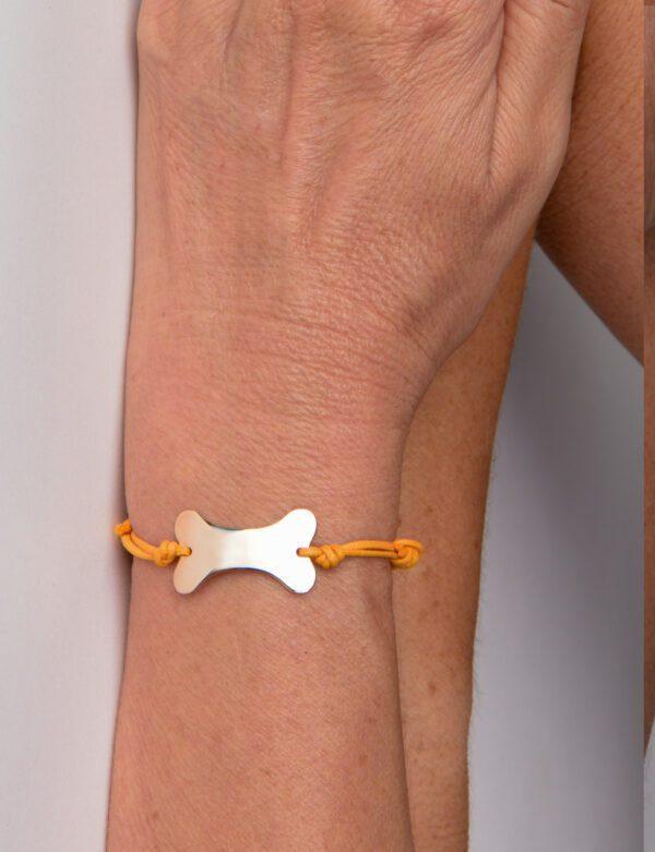 Millenium bracciale in oro rosa 9k personalizzabile con incisione gratuita